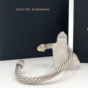 David Yurman Cable 7mm 14K Yellow Gold